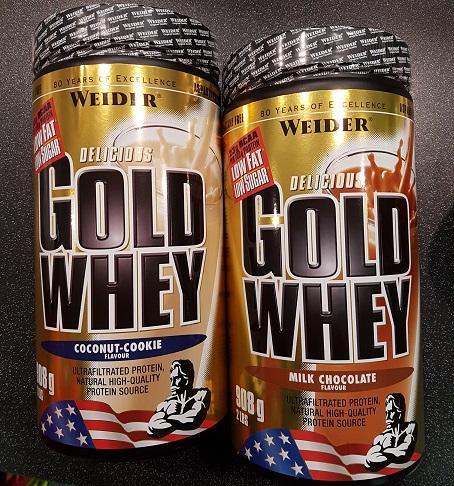 Weider Gold Whey Balenie