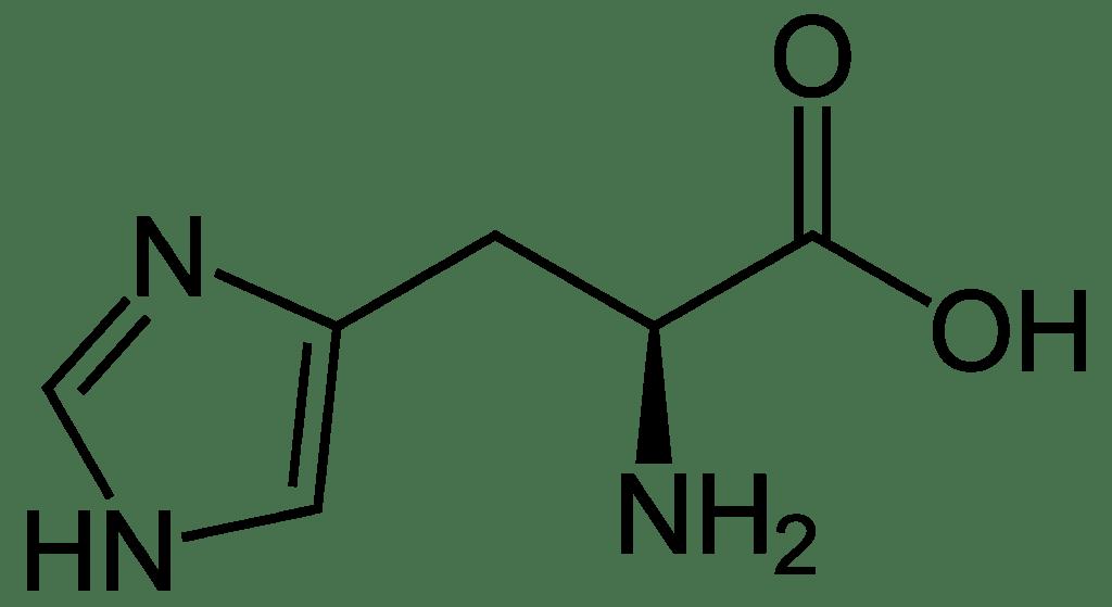 histidin vzorec