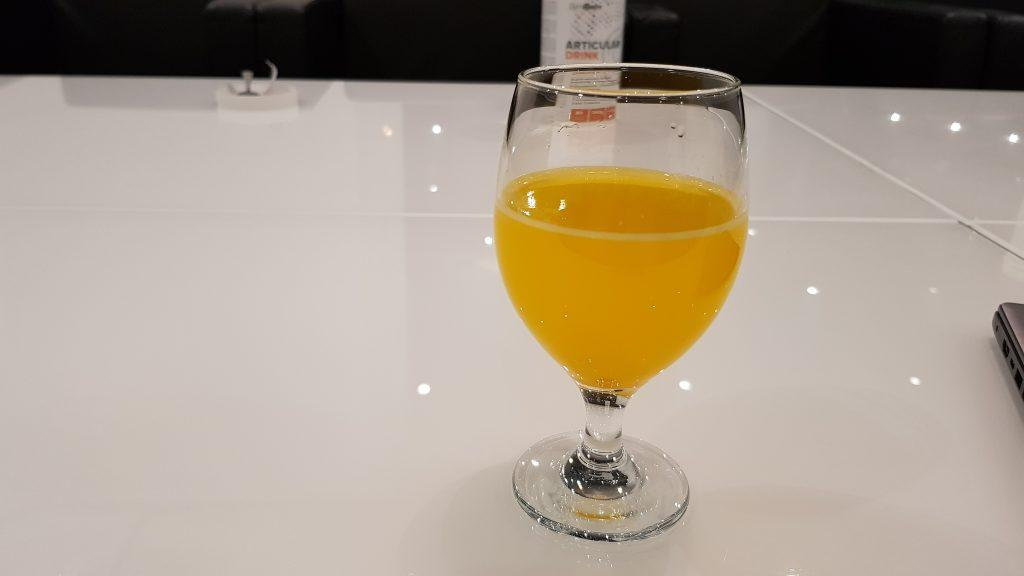 Rozpustnosť a Chuť Articular Drinku