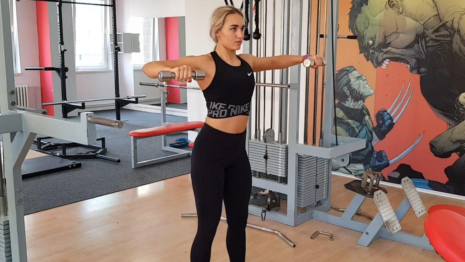 Precvičovanie ramenných svalov
