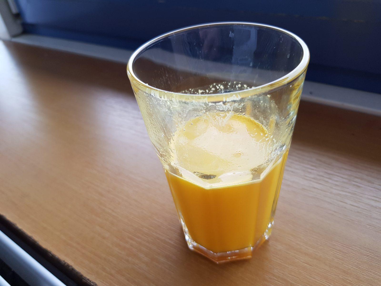 Rozpustnosť Animal Flex prášok (pomaranč)