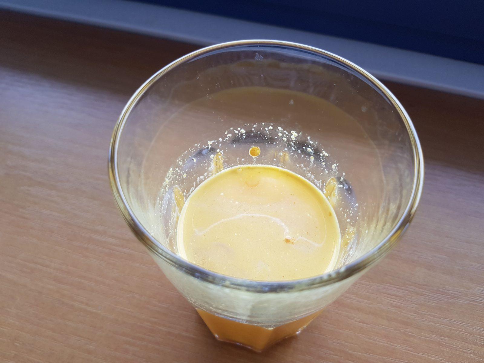 Rozpustnosť v pohári - Animal Flex Powder