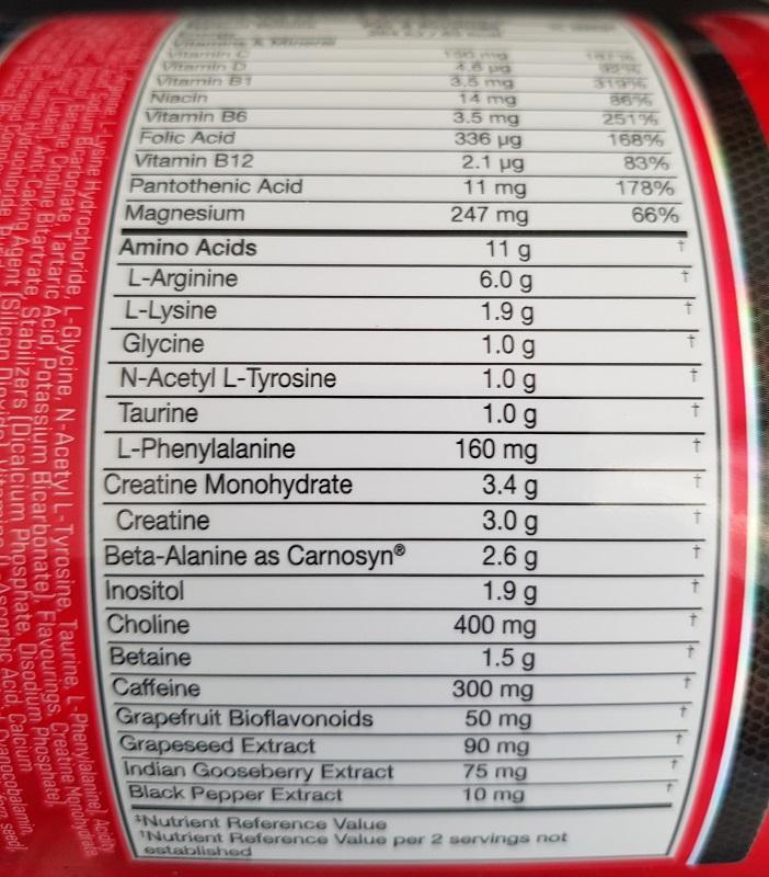 aminokyseliny v produkte