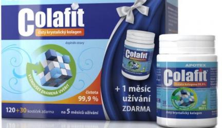 """Kĺbová výživa Apotex Colafit –  Čo v sebe skrýva takzvaný  """" čistý a bovinný""""  kolagén"""