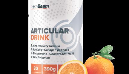 Articular Drink od GymBeam –  Recenzia kĺbovej výživy od populárneho slovenského predajcu doplnkov výživy