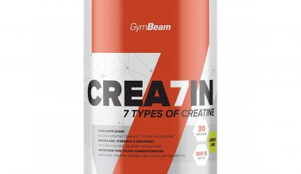 """Crea7in – Čo sa skrýva za """"cool"""" názvom kreatínu od slovenskej značky Gymbeam?  Recenzia"""