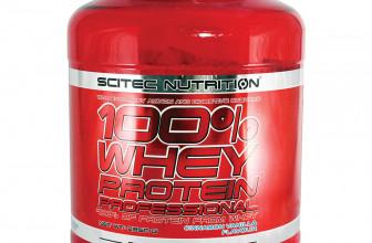 100% Whey Protein Professional od Scitec Nutrition – Recenzia jedného z najpopulárnejších srvátkových proteínov na trhu